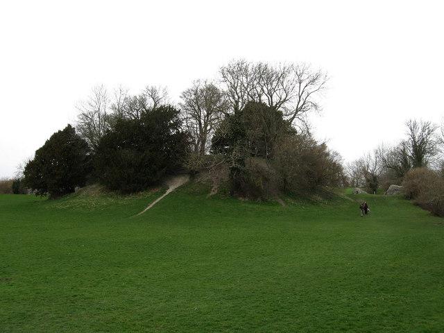 Motte, Bramber Castle - geograph.org.uk - 1203839