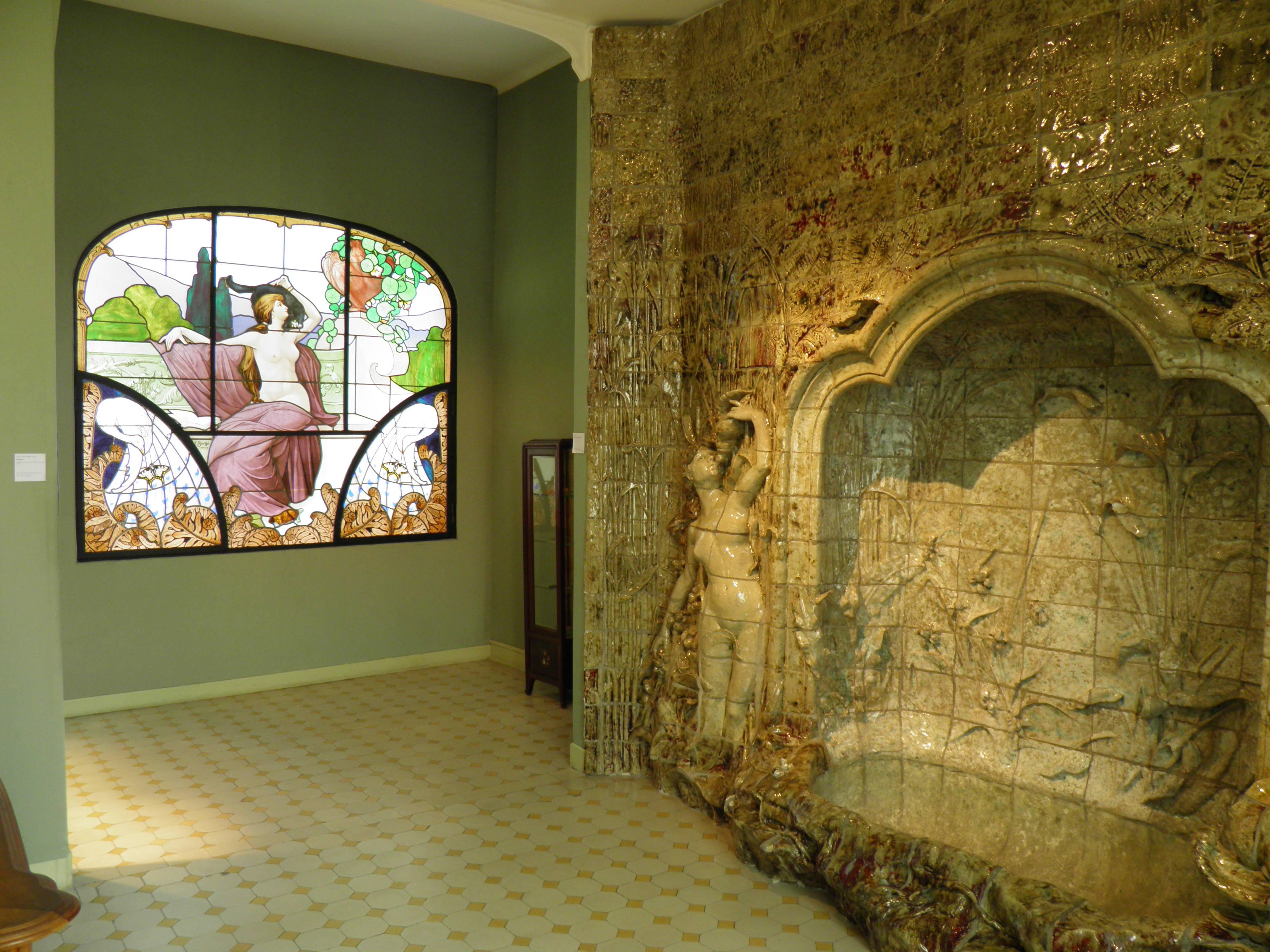 File:Musée De Lu0027École De Nancy   Intérieur   Salle De Bain (Nancy)