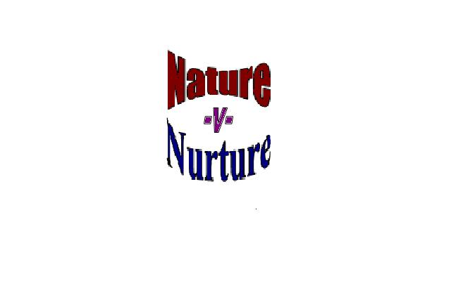 Nature Vs Nurture Andc Crime