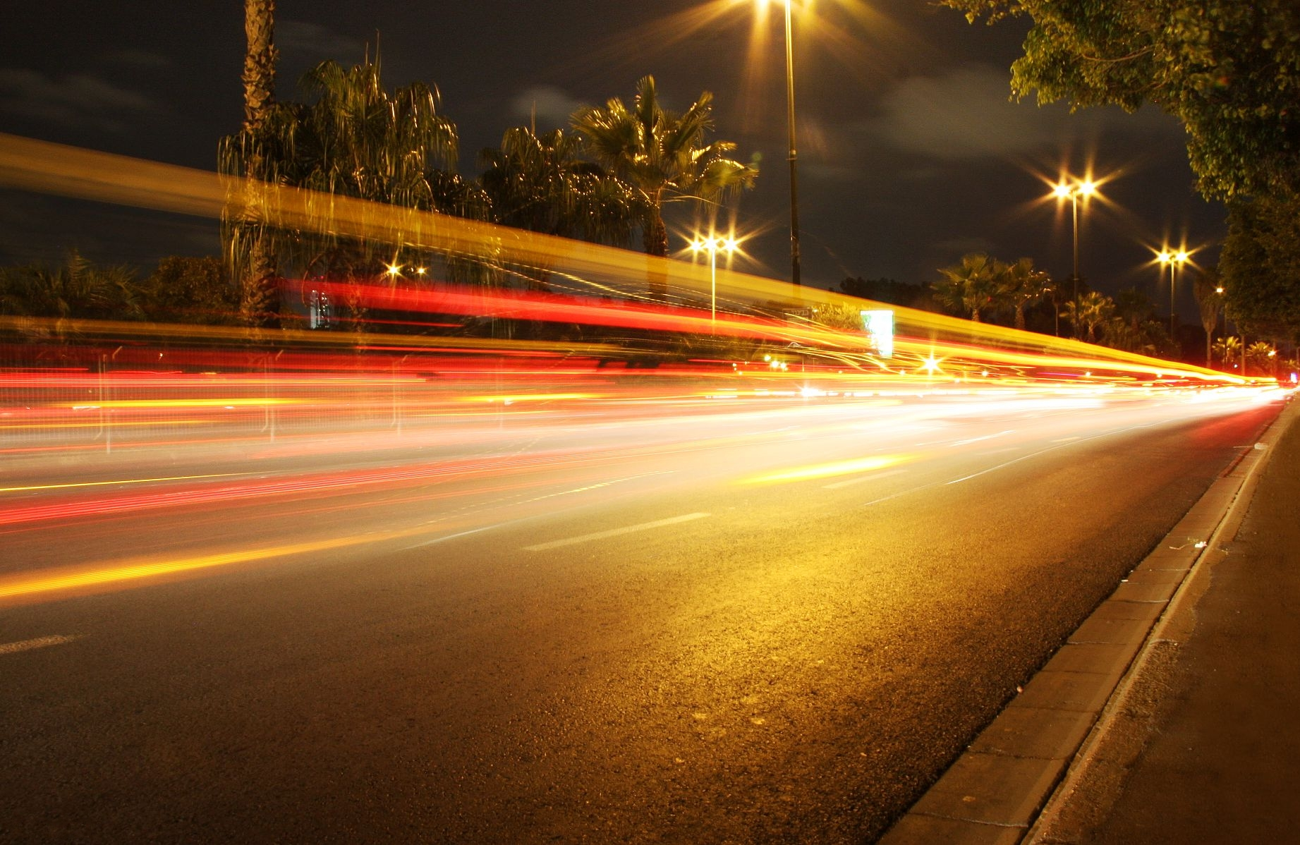 File:Night street lights-other.jpg