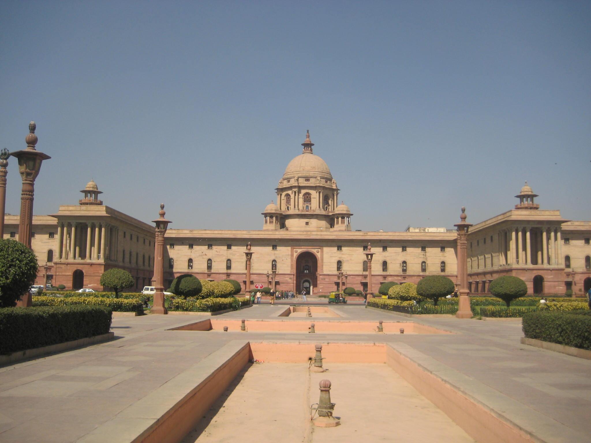 My trip to india day 5 secretariat building government - Cabinet secretariat govt of india ...