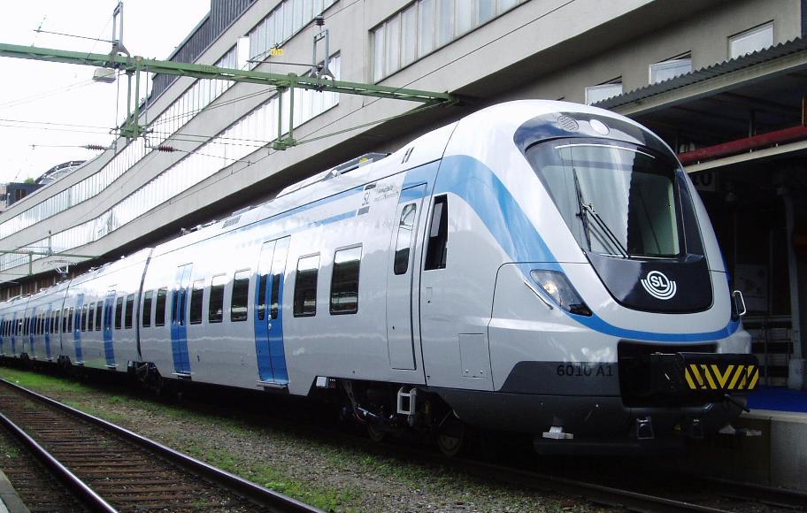 tåg till stockholm