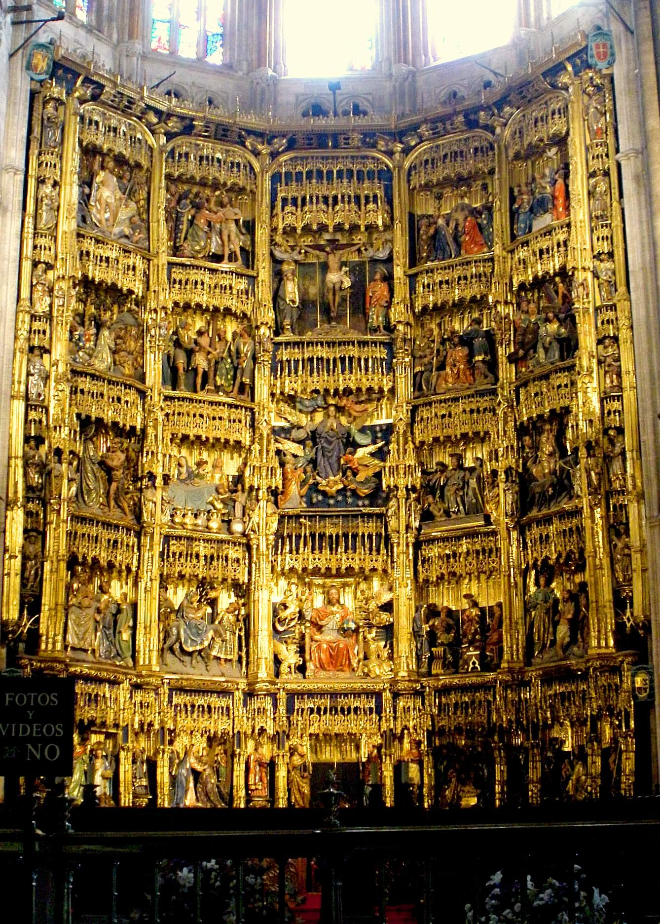 Retablo mayor de la Catedral de Oviedo