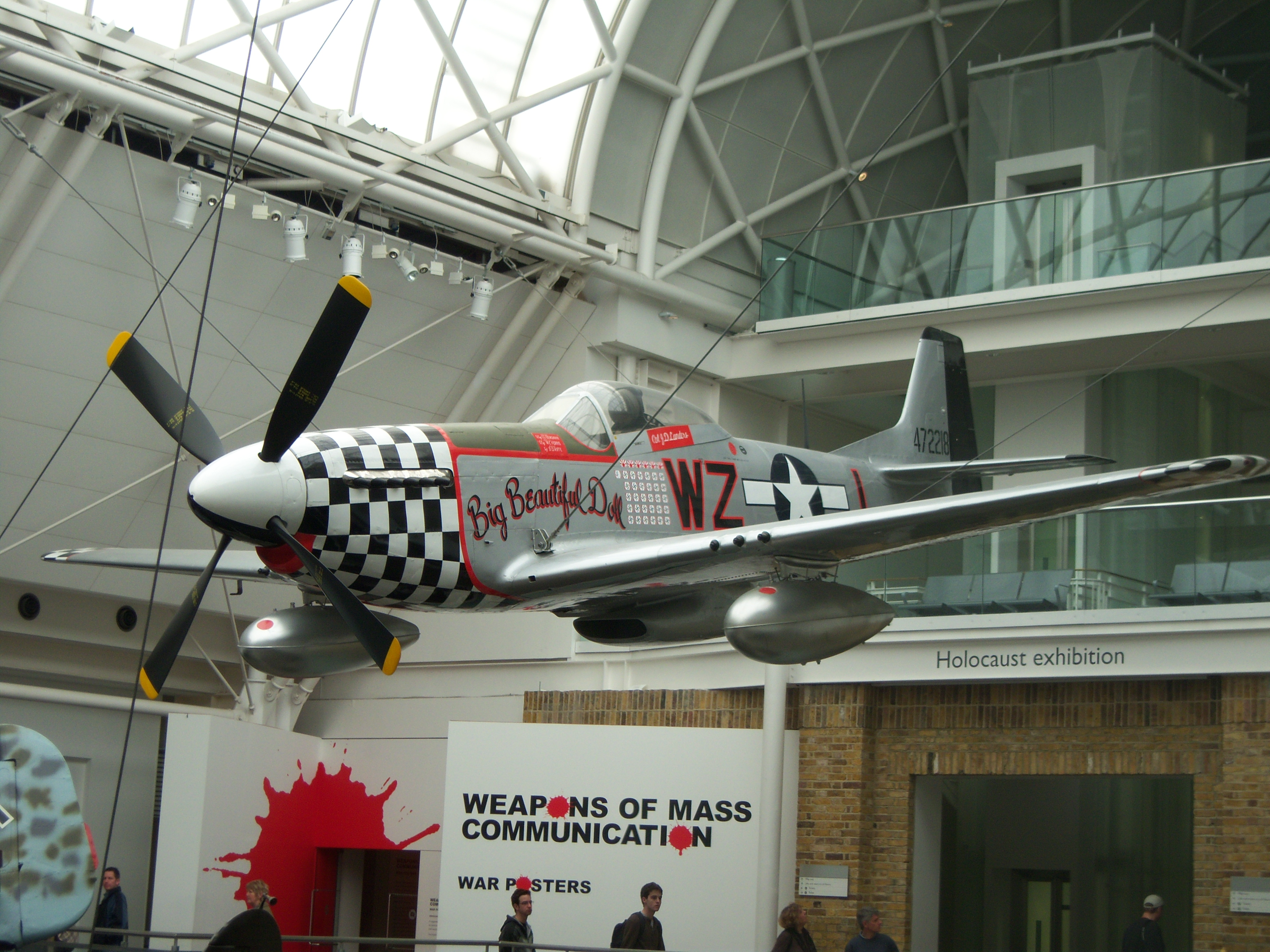 File P 51 Mustang Aircraft At Imperial War Museum London