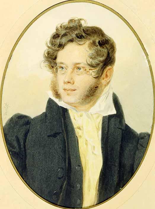 Портрет работы П. Ф. Соколова, 1824