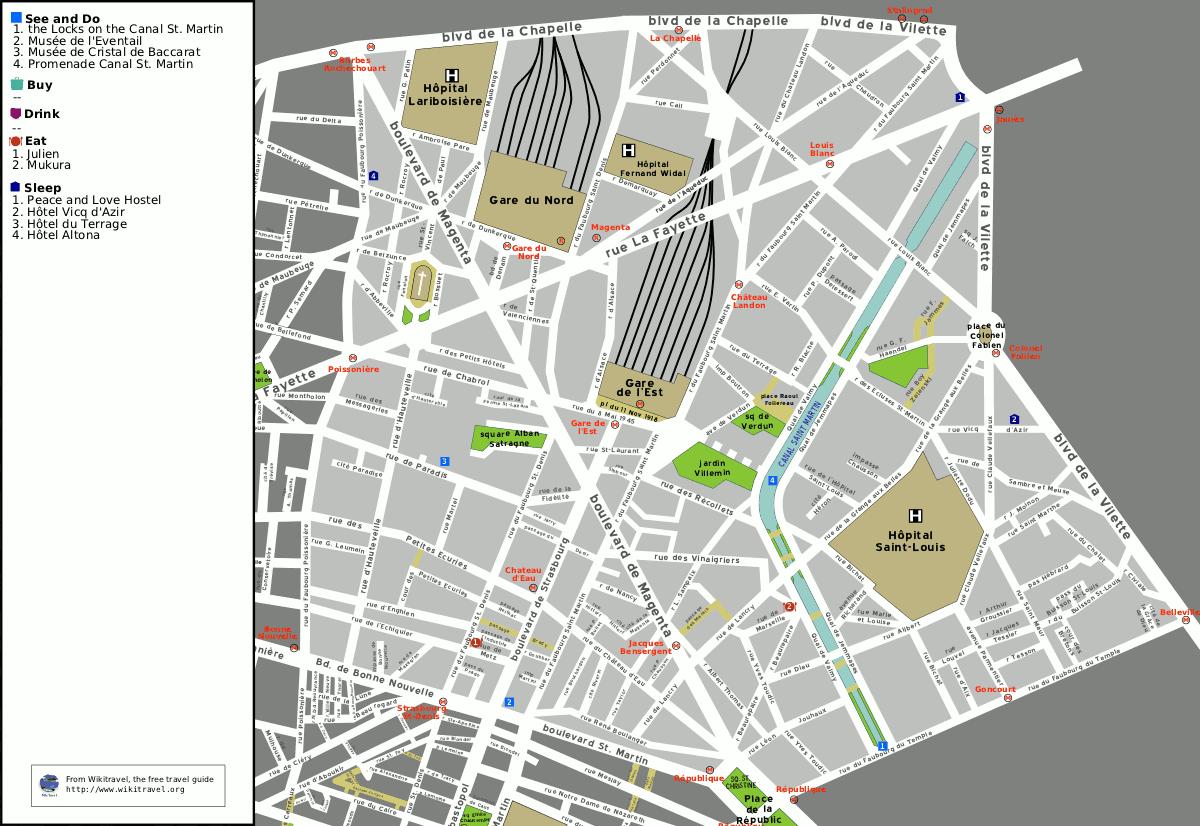 liste des voies du 10e arrondissement de paris wikip dia. Black Bedroom Furniture Sets. Home Design Ideas