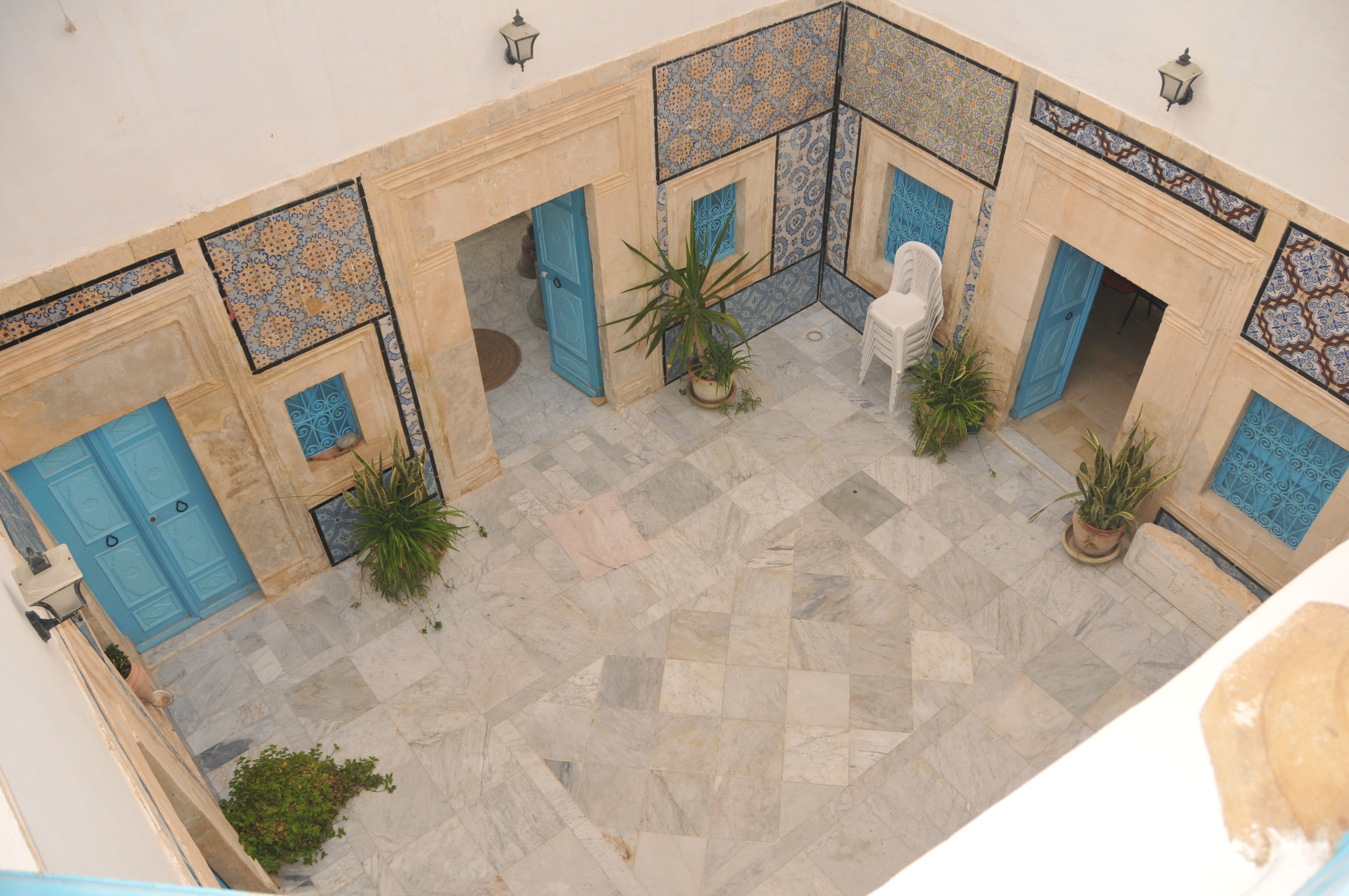 Plan de maison arabe maison moderne for Architecture maison arabe