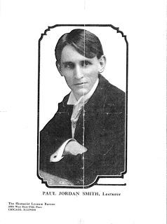 Paul Jordan Smith, ca. 1914