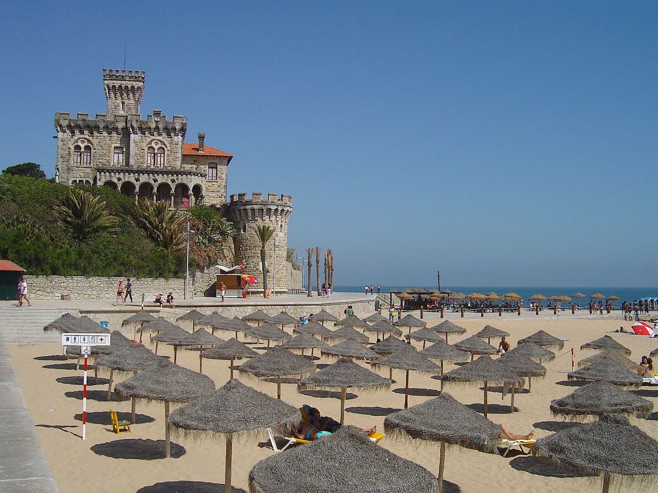 Tamariz Beach in Estoril.