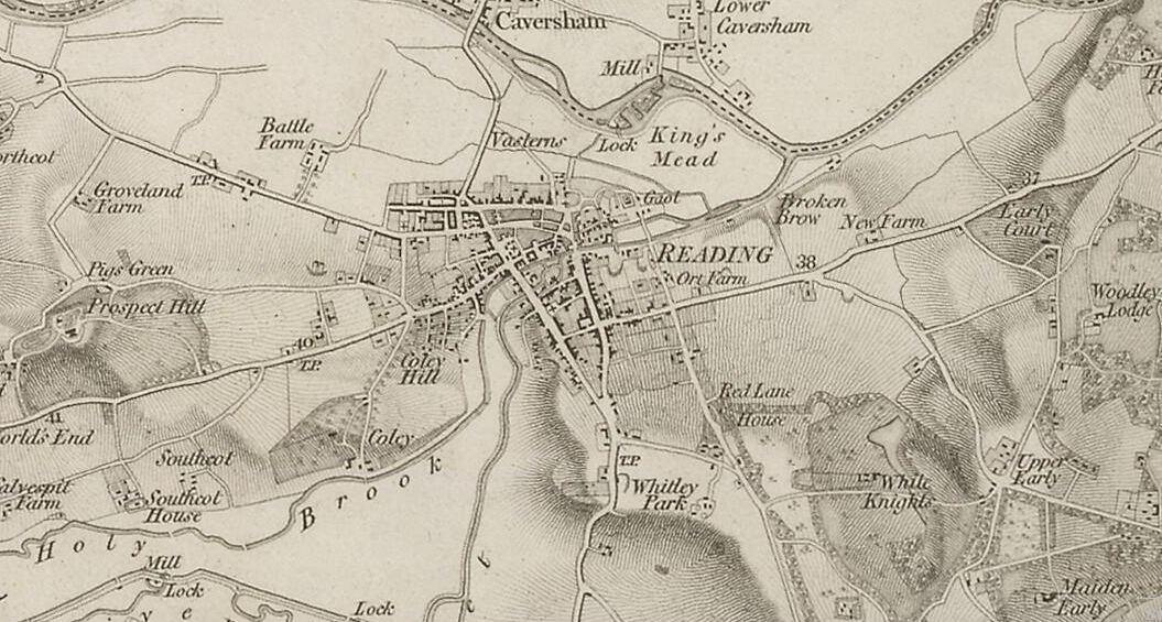 History of Reading Berkshire  Wikipedia