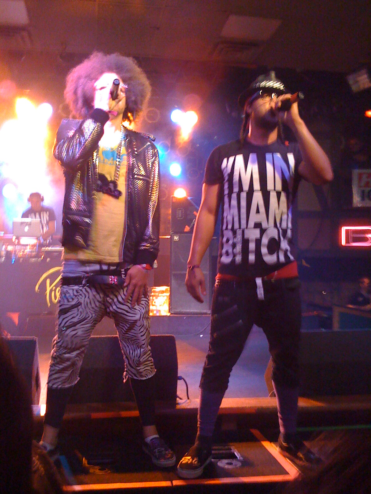 redfoo and sky blu relationship