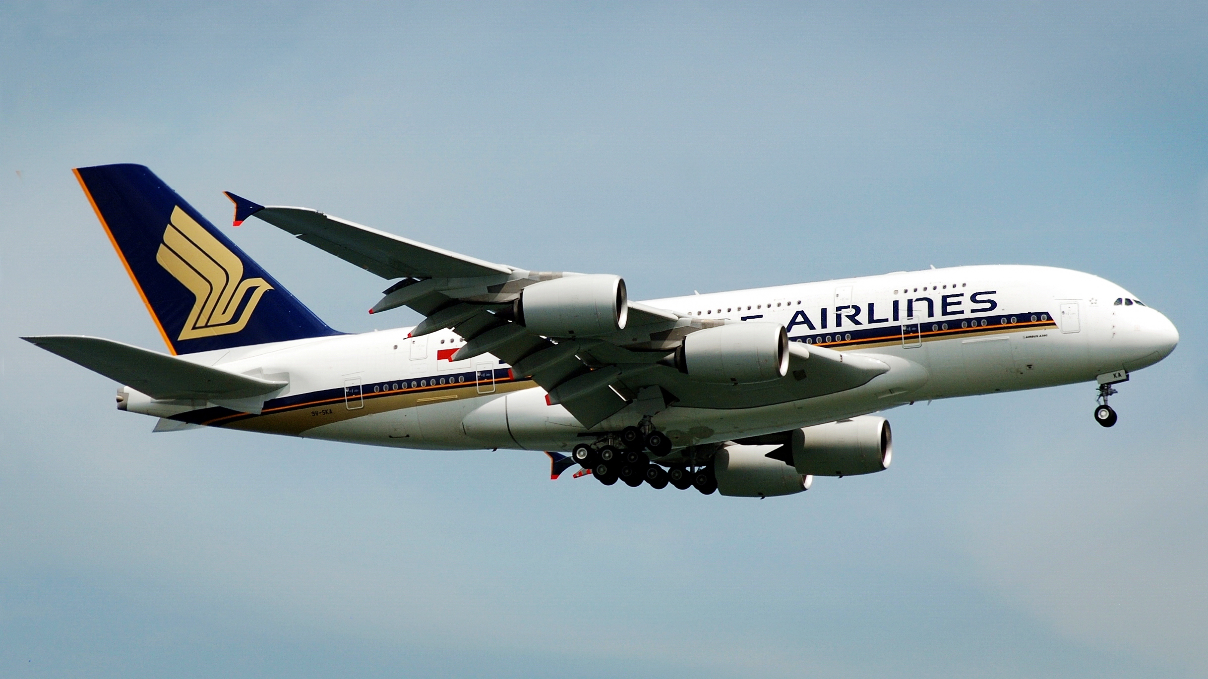 File:SIA Airbus A380, 9V-SKA, SIN 8.jpg - Wikipedia, the free ...