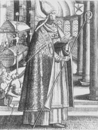 Saint Perpetuus French bishop