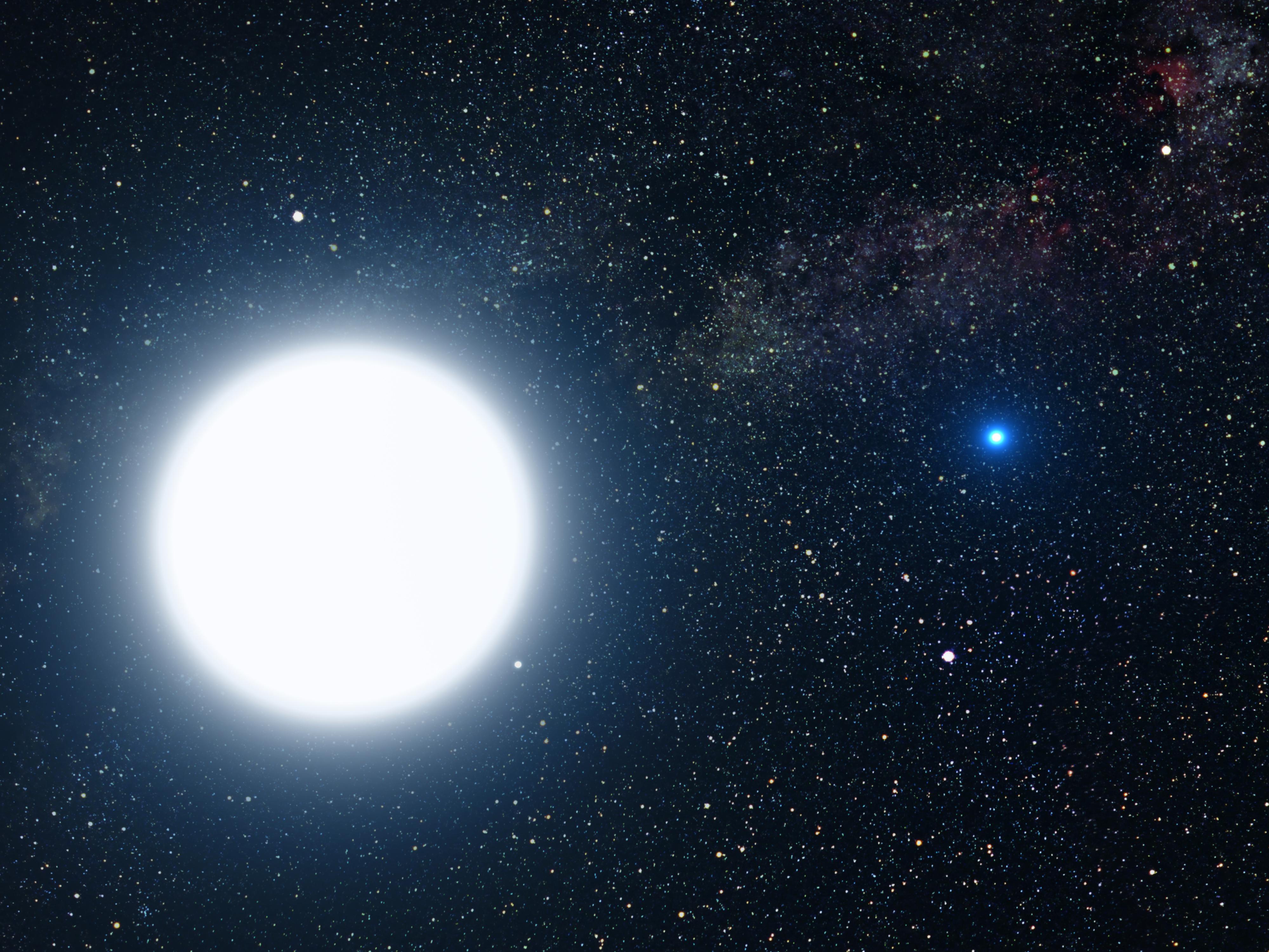 Sirius B Star