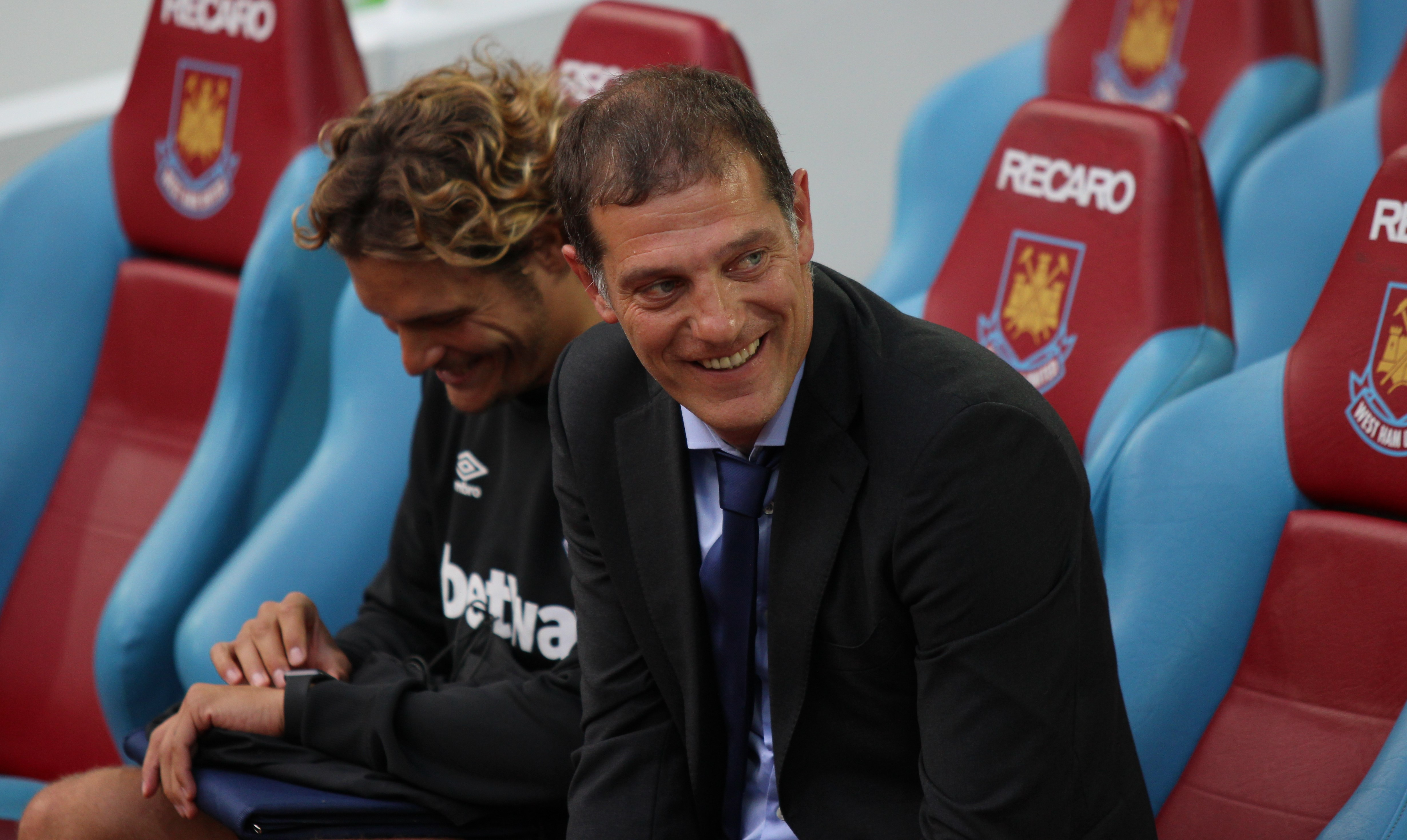 Image result for Slaven Bilic and Payet