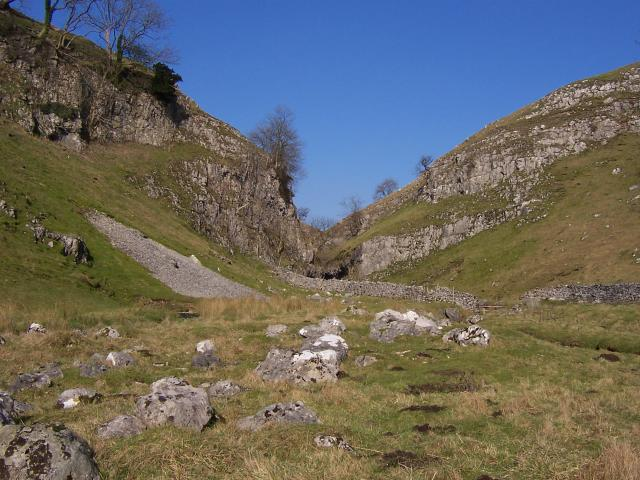 South entrance to Trollers Gill - geograph.org.uk - 467714