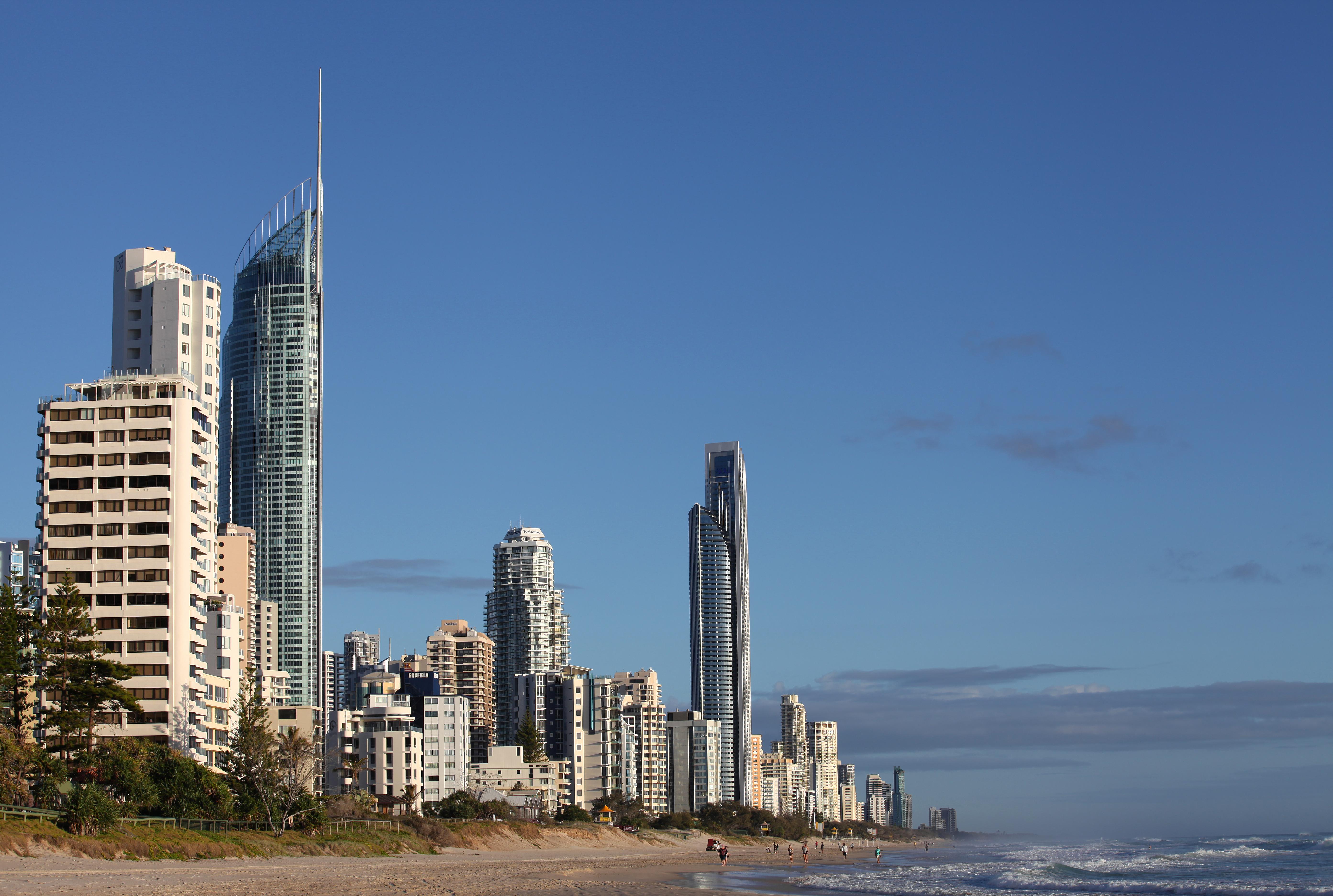Gold Coast Australia Skyline