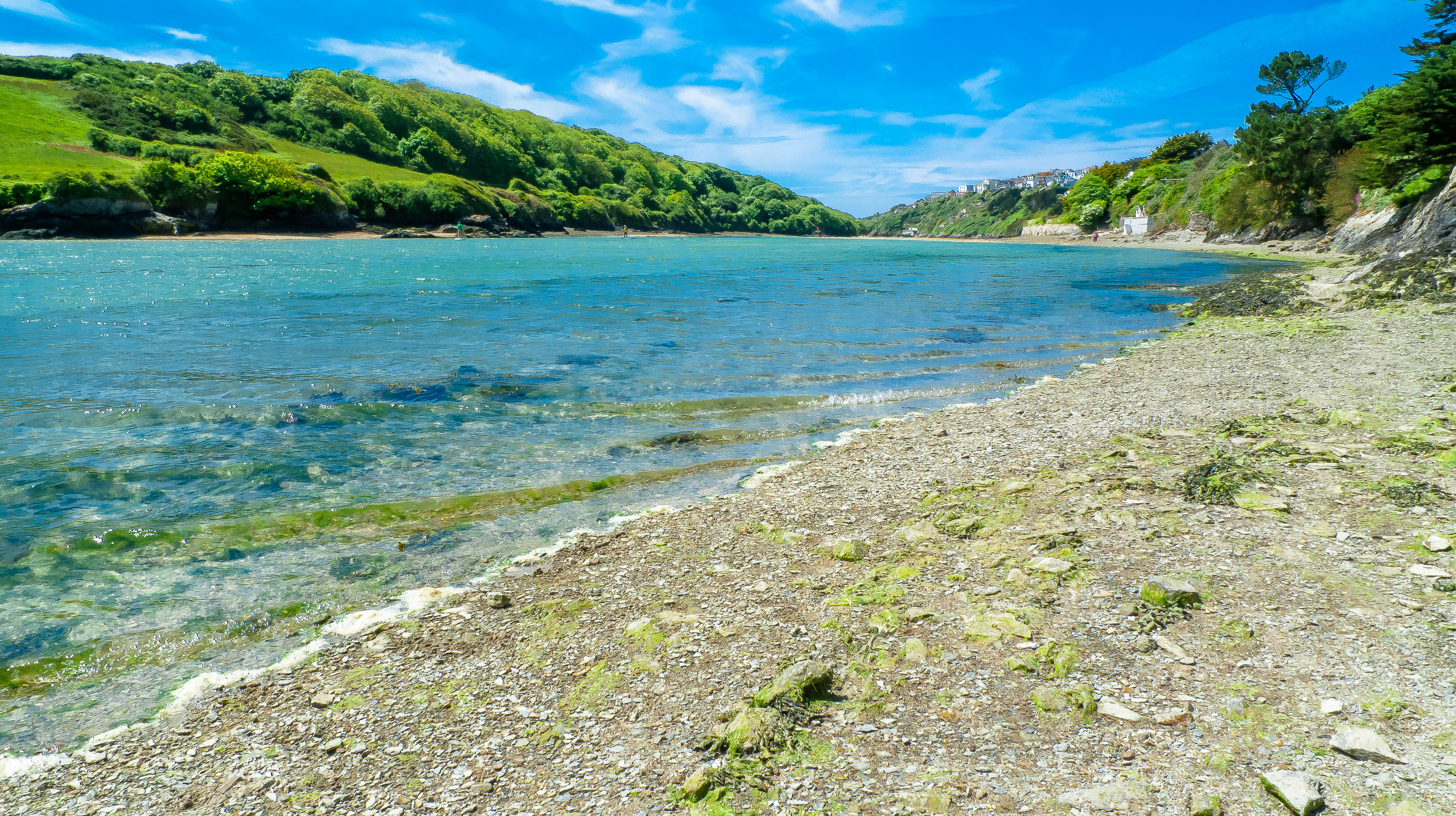 The scenic Gannel river