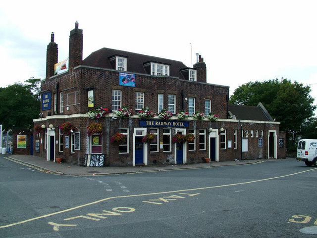 The Railway Hotel - geograph.org.uk - 919627
