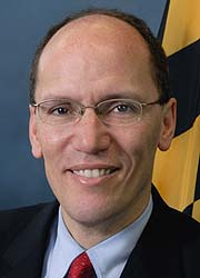 Perez's official portrait as Maryland's Secretary of DLLR