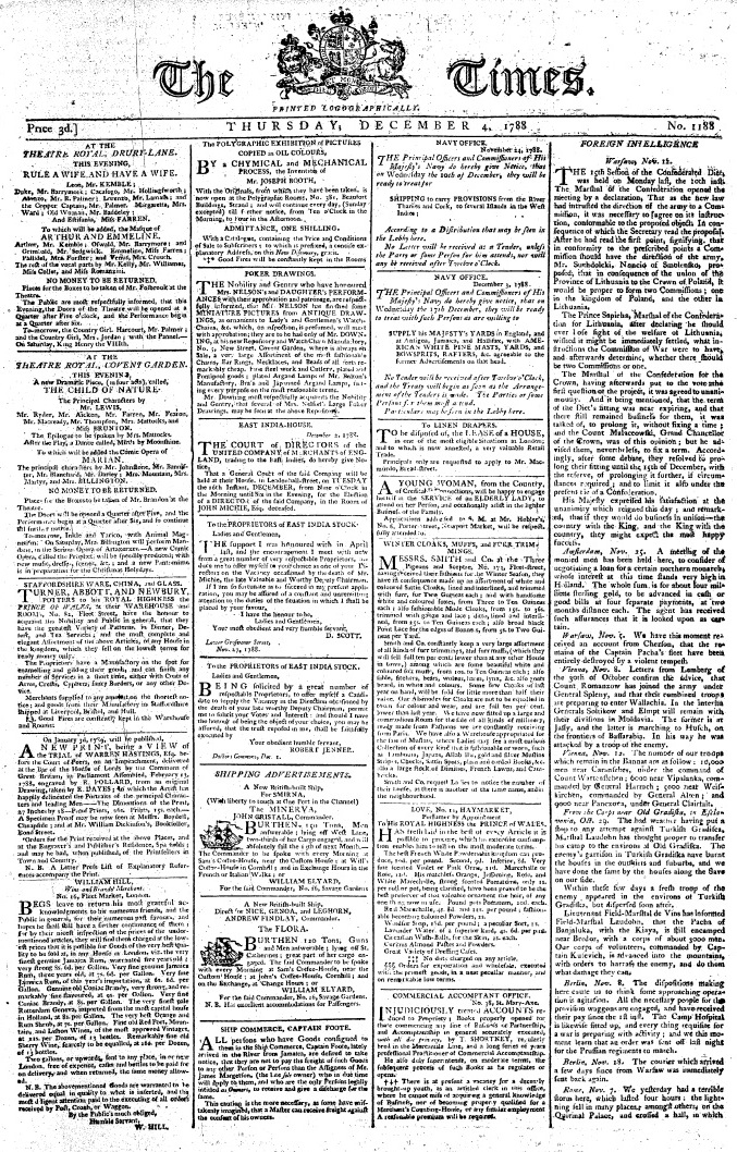 History of newspapers and magazines - Wikipedia, the free encyclopedia