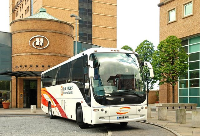 File:Touring coach, Belfast - geograph.org.uk - 1298753.jpg