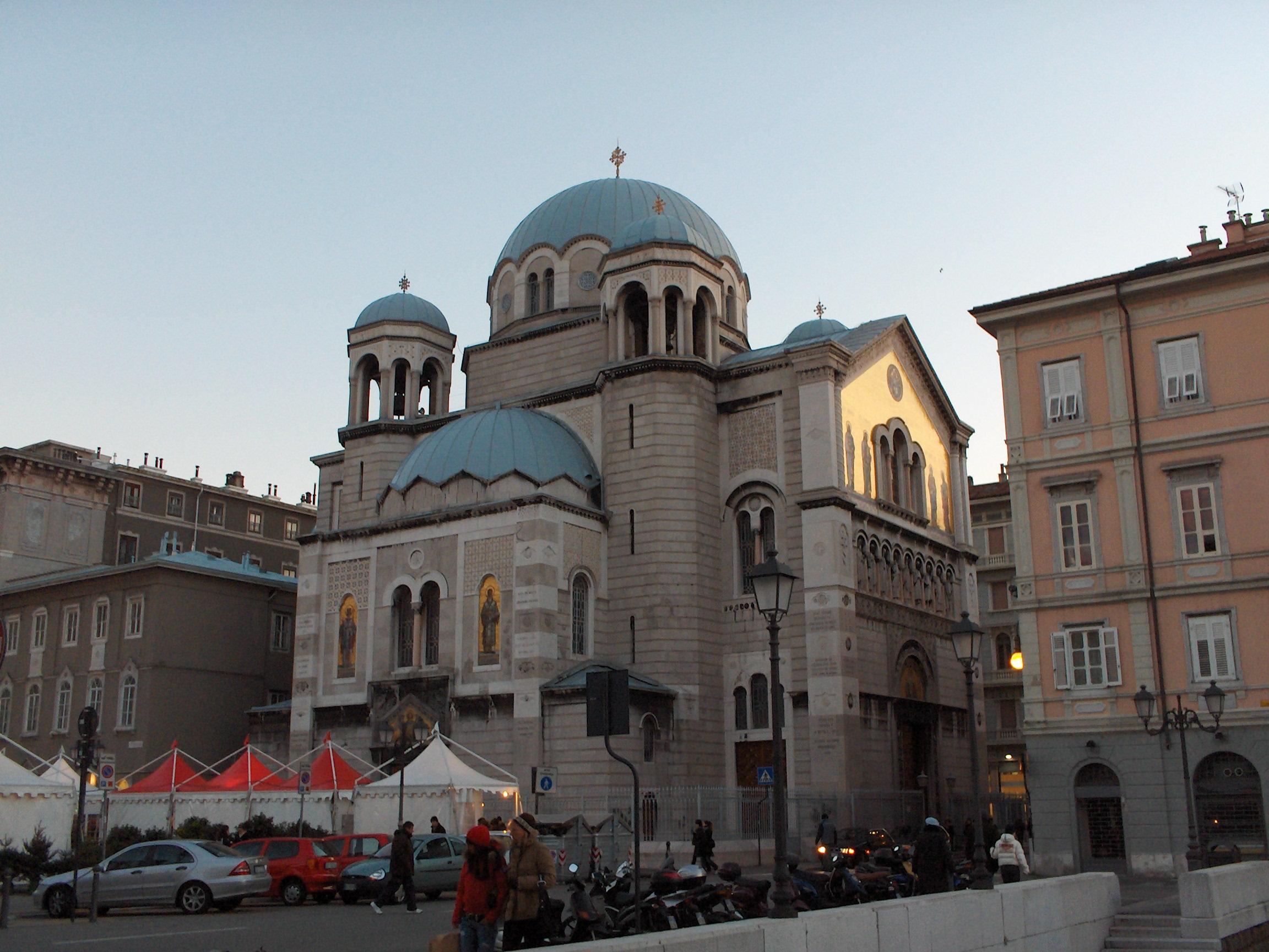 File:Trieste Serb-orthodox church of San-Spiridione3.jpg ...