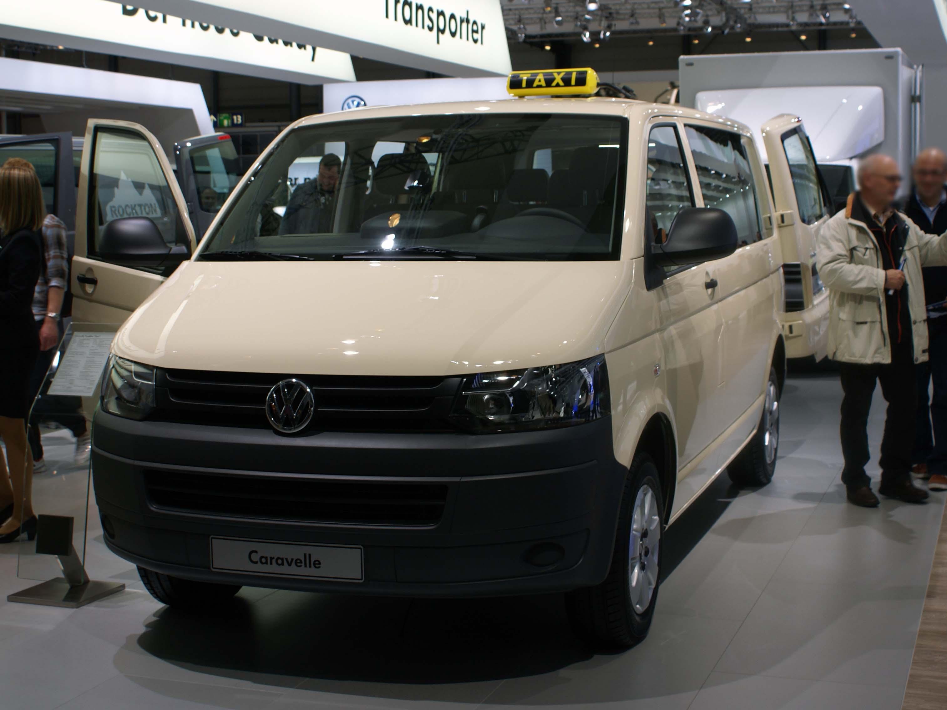 File Vw Caravelle T5 Facelift Taxi Fl Iaa 2010 Jpg