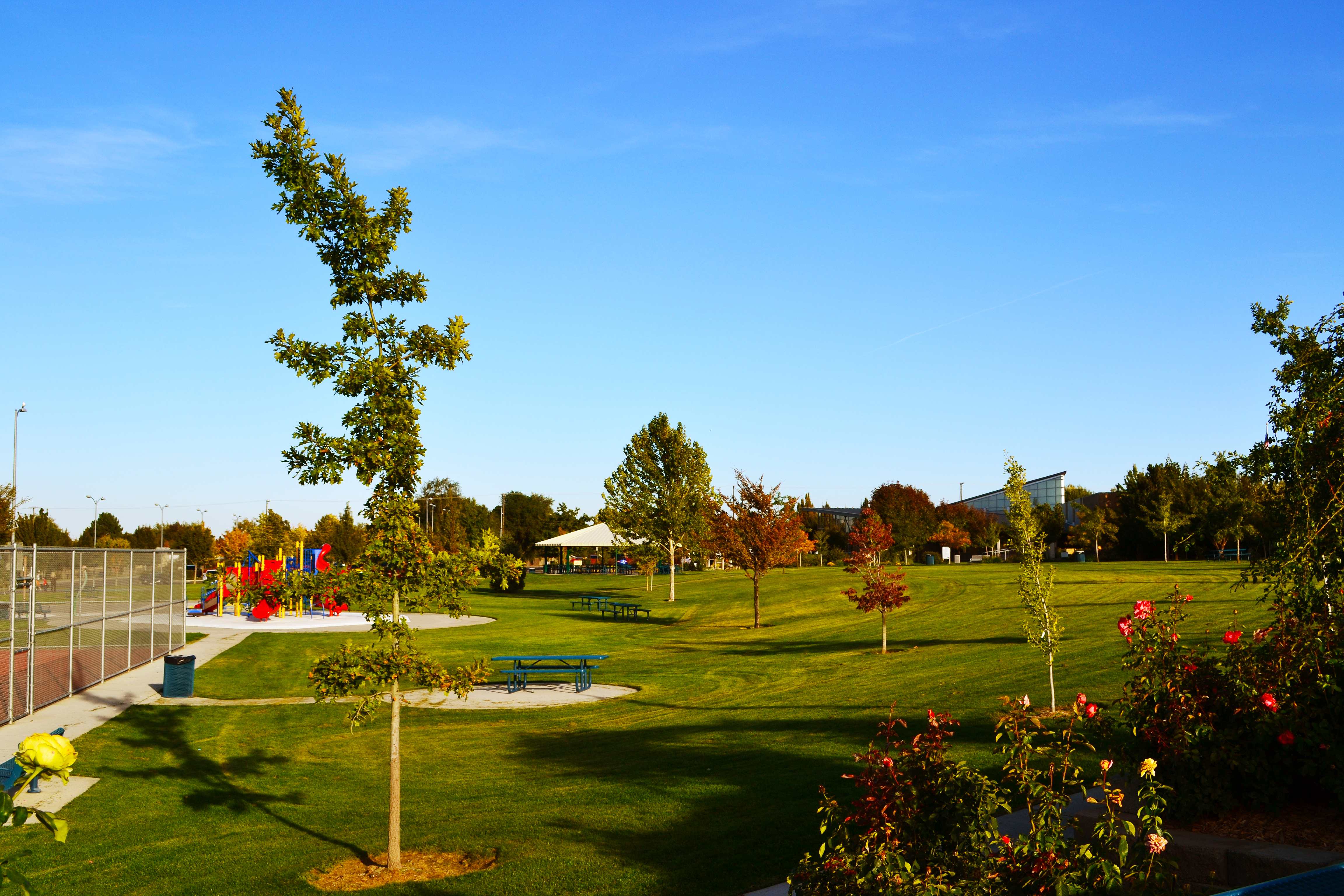 The acres of green space, such as that found at Highland Grange Park, is just one reason first-time homebuyers flock to Kennewick, Washington