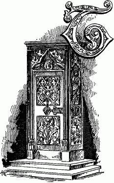 File vignette of gothic oak armoire as ornament to for Arredamento gotico