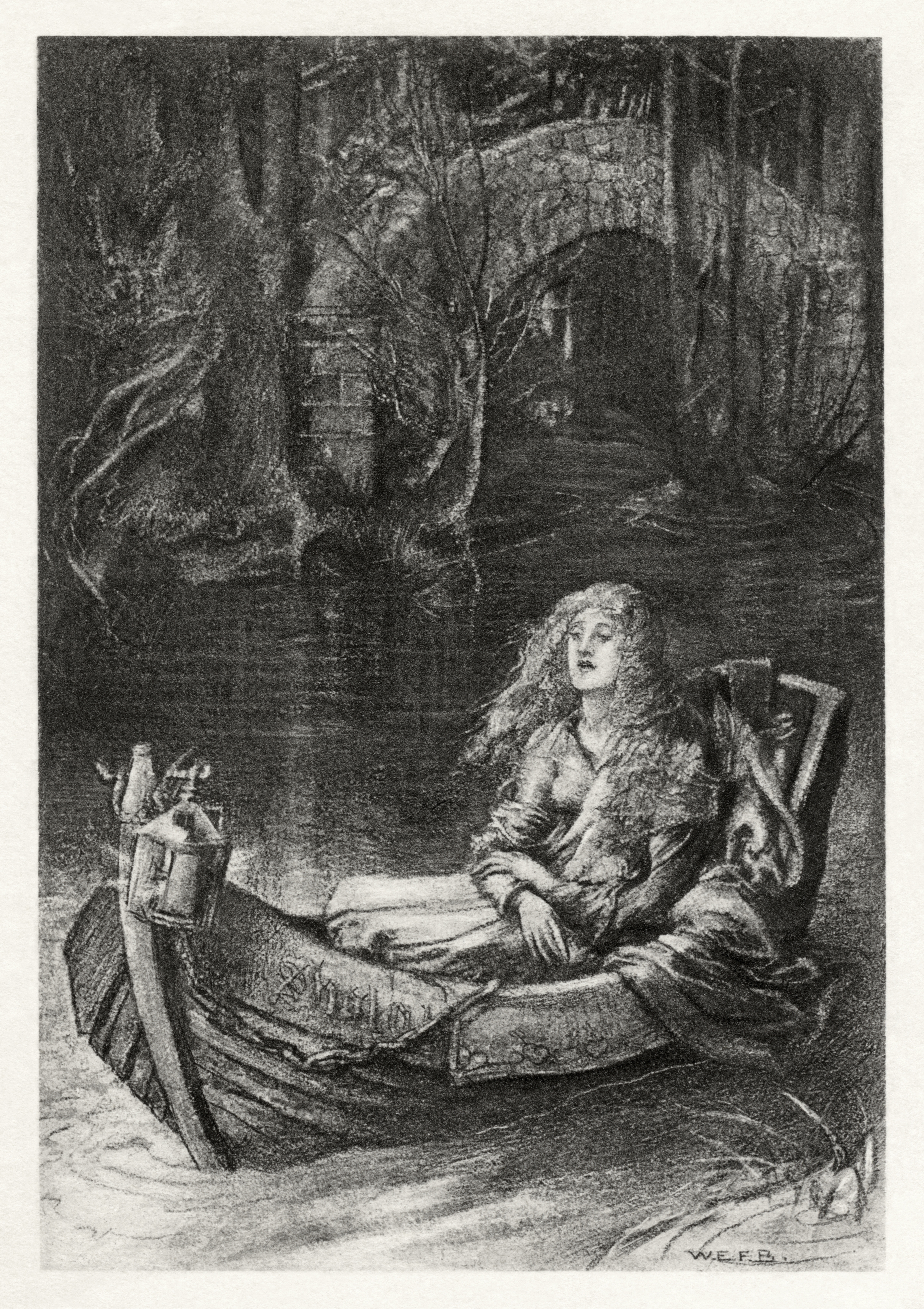 tennyson the lady of shalott Meet alfred, lord tennyson, the leading poet of the victorian age, on biographycom his lasting works include 'crossing the bar' and 'the lady of shalott.