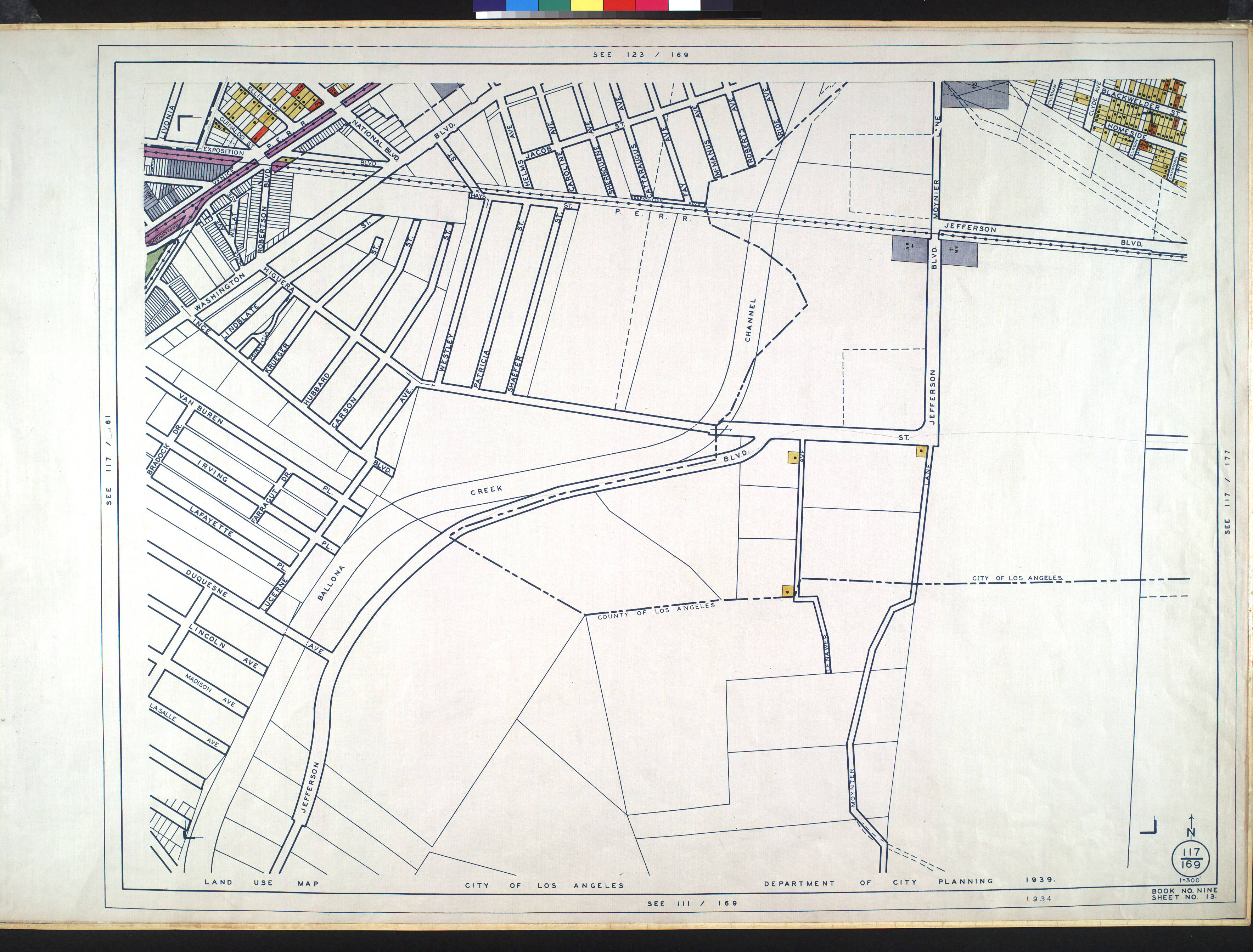 FileWPA Land Use Survey Map For The City Of Los Angeles Book - Los angeles zoning map pdf