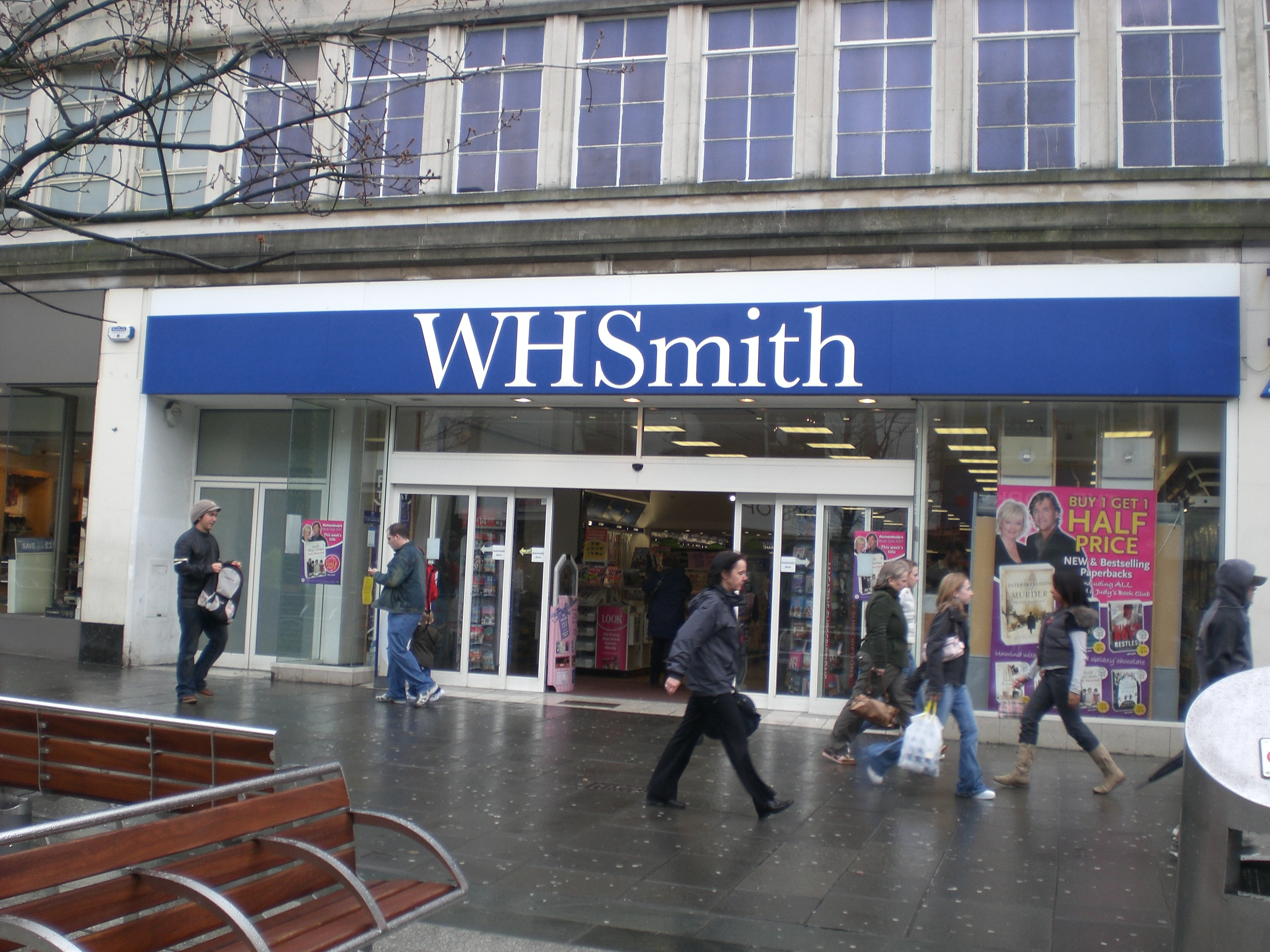 marketing management w h smith Wh smith, the high street retailer with over 1,200 sites around the uk, has a  of  activities in relation to the services provided and undertook a market review.