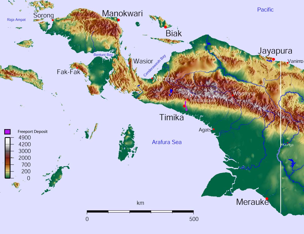 west new guinea dispute wikipedia