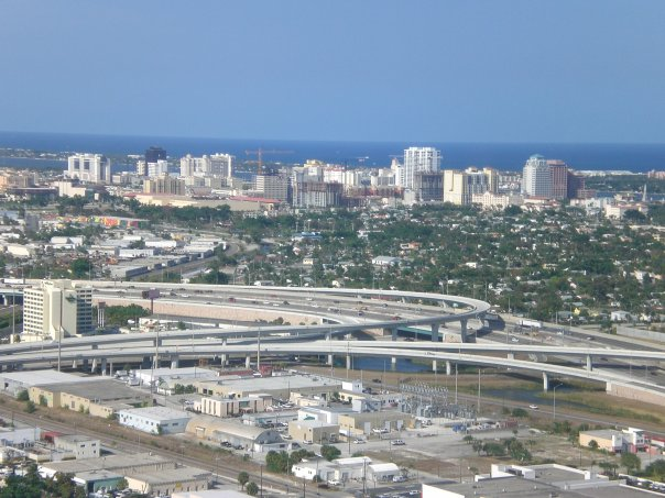 West Palm Beach interchange