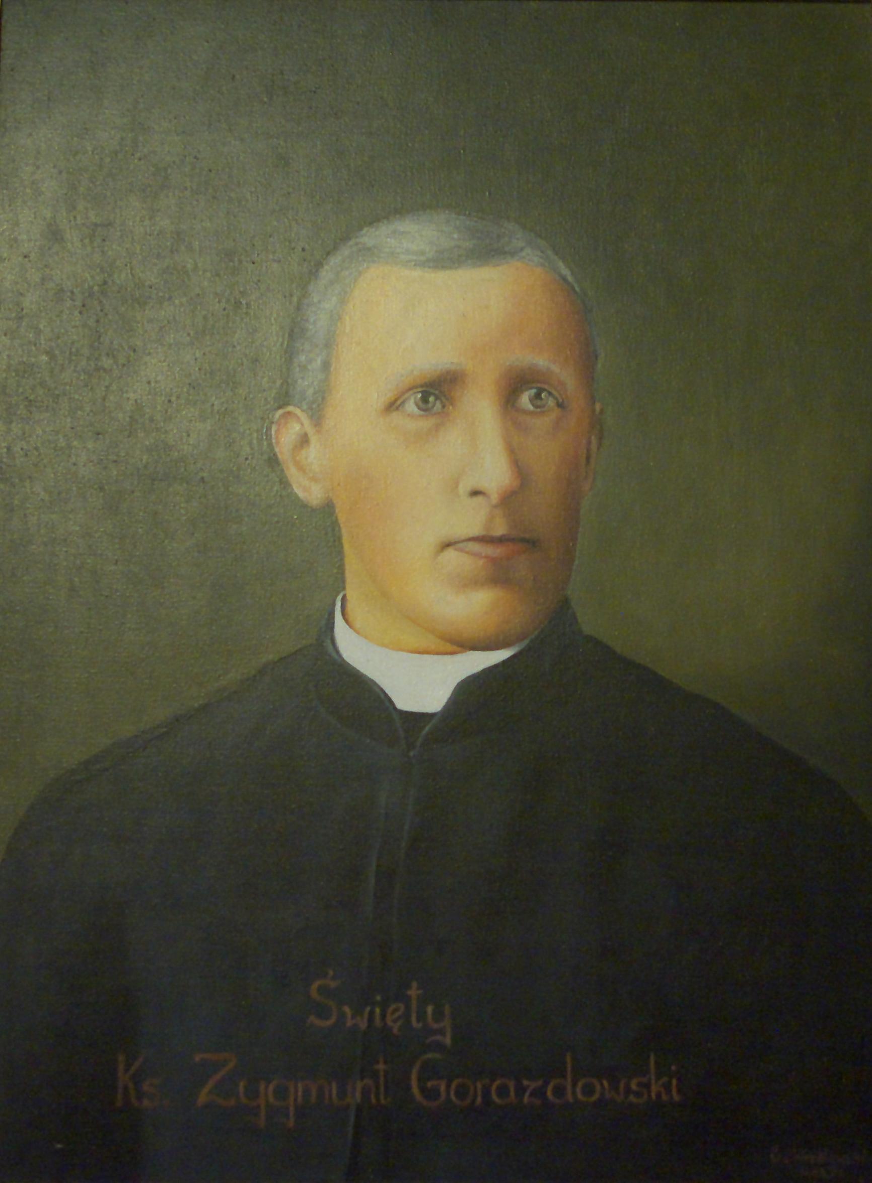 Maleri av Sigmund Gorazdowski i fransiskanerklosteret i Sanok
