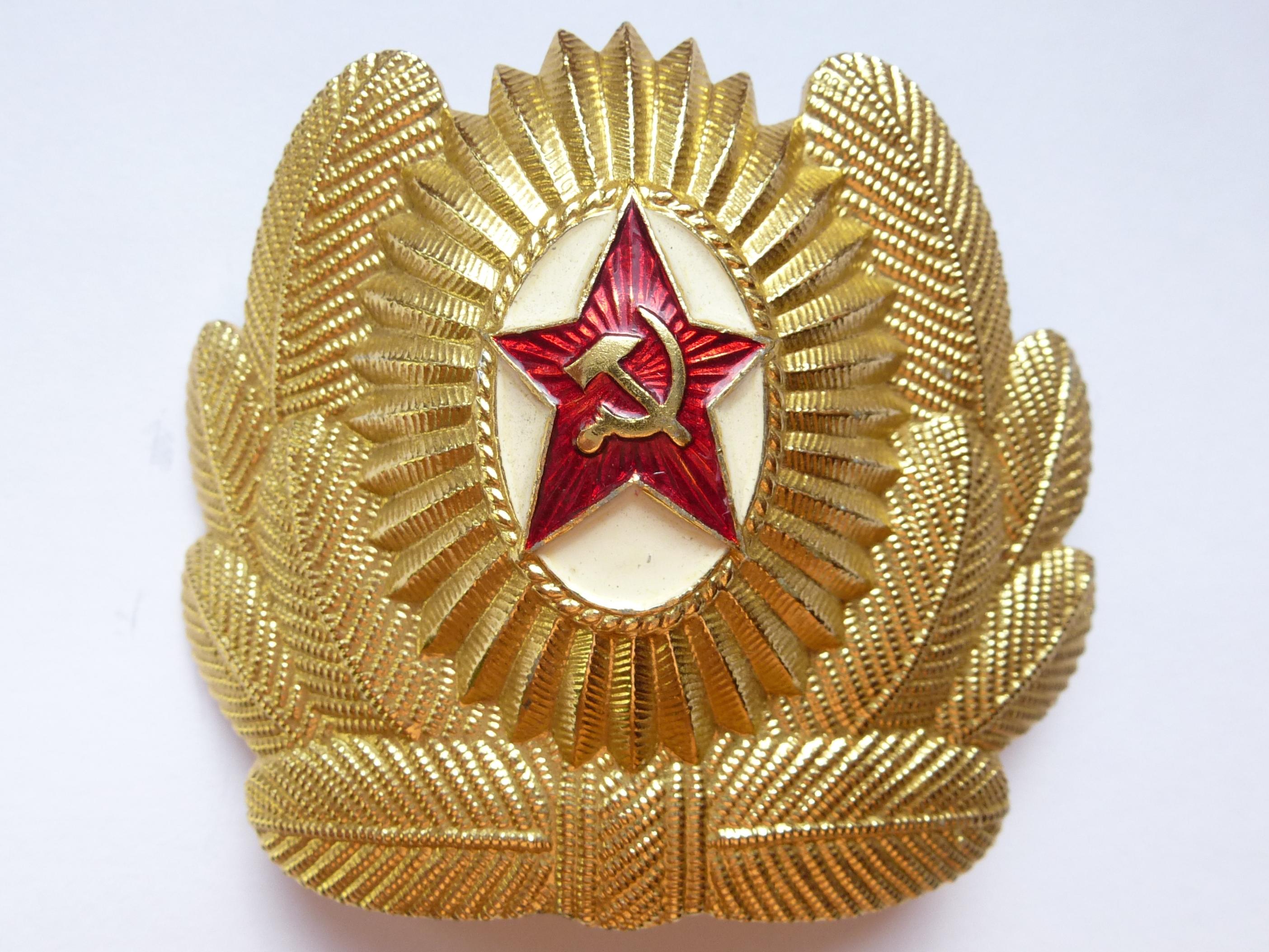 Кокарда на шапку-вушанку для офіцерів ВПС та ПДВ СРСР 1f9442caf86d4