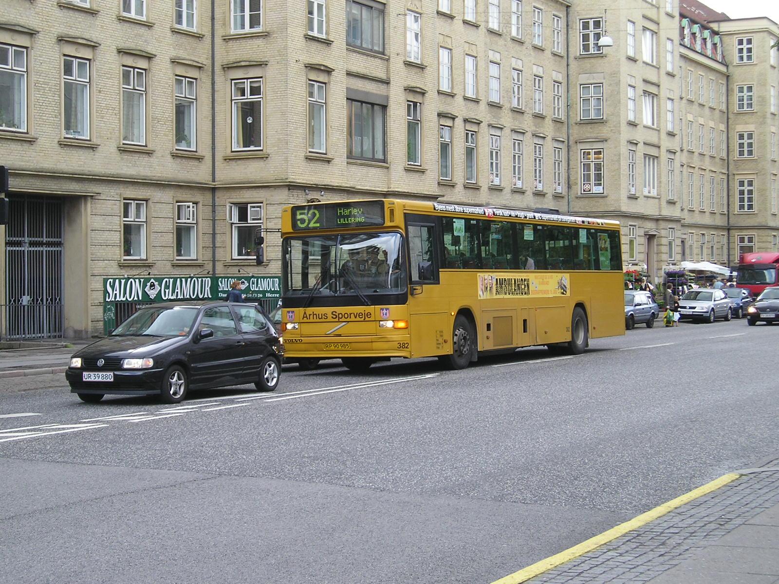 bybusser århus kort