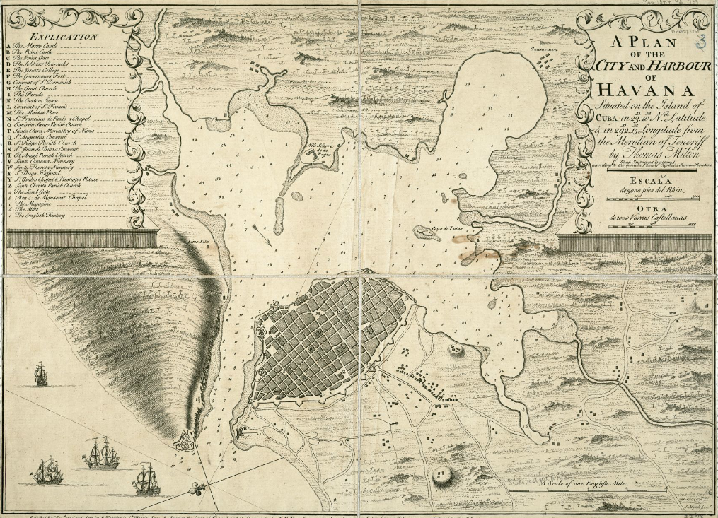 1739_Plan_of_the_city_and_harbour_of_Hav