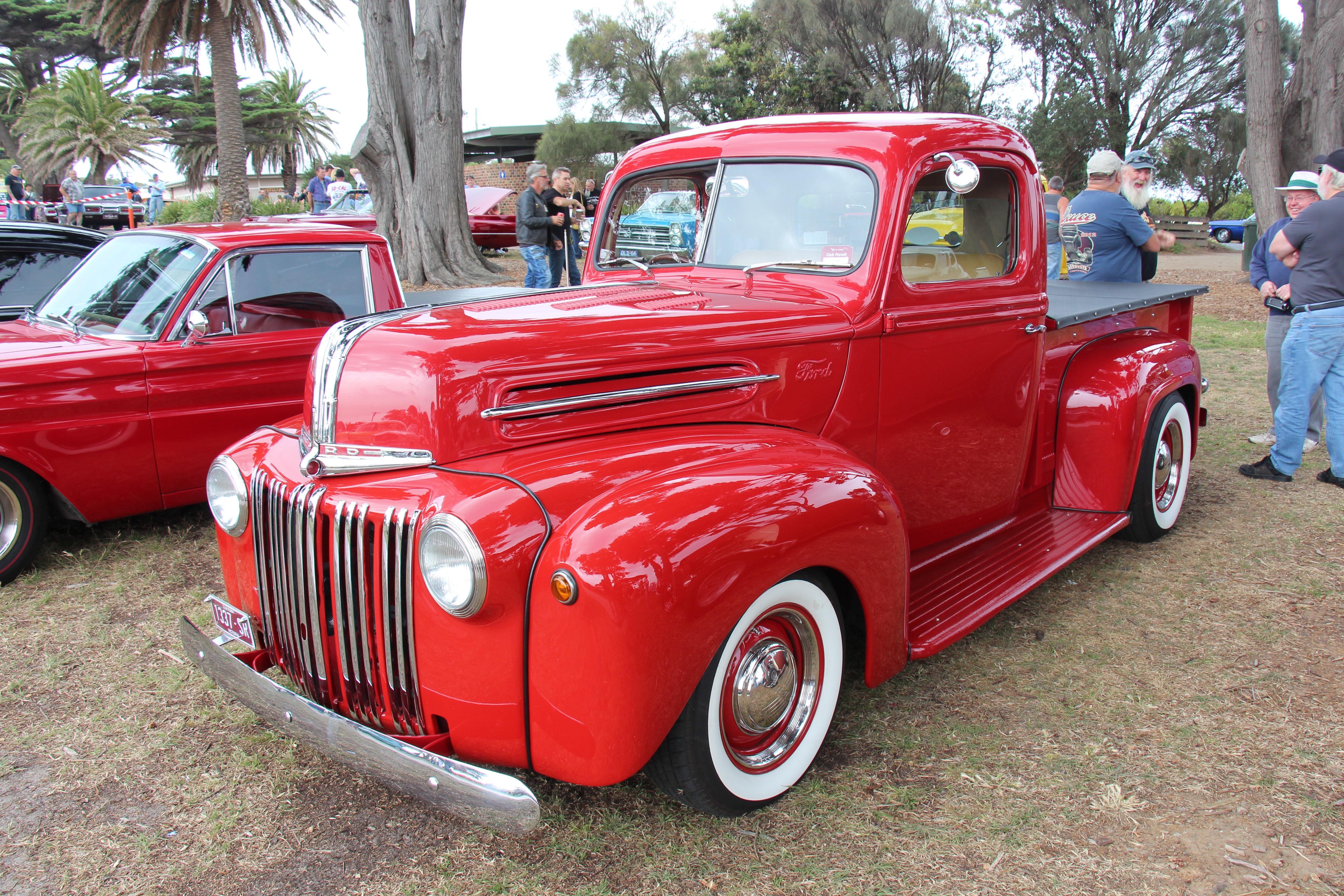Vermillion Red Car Paint
