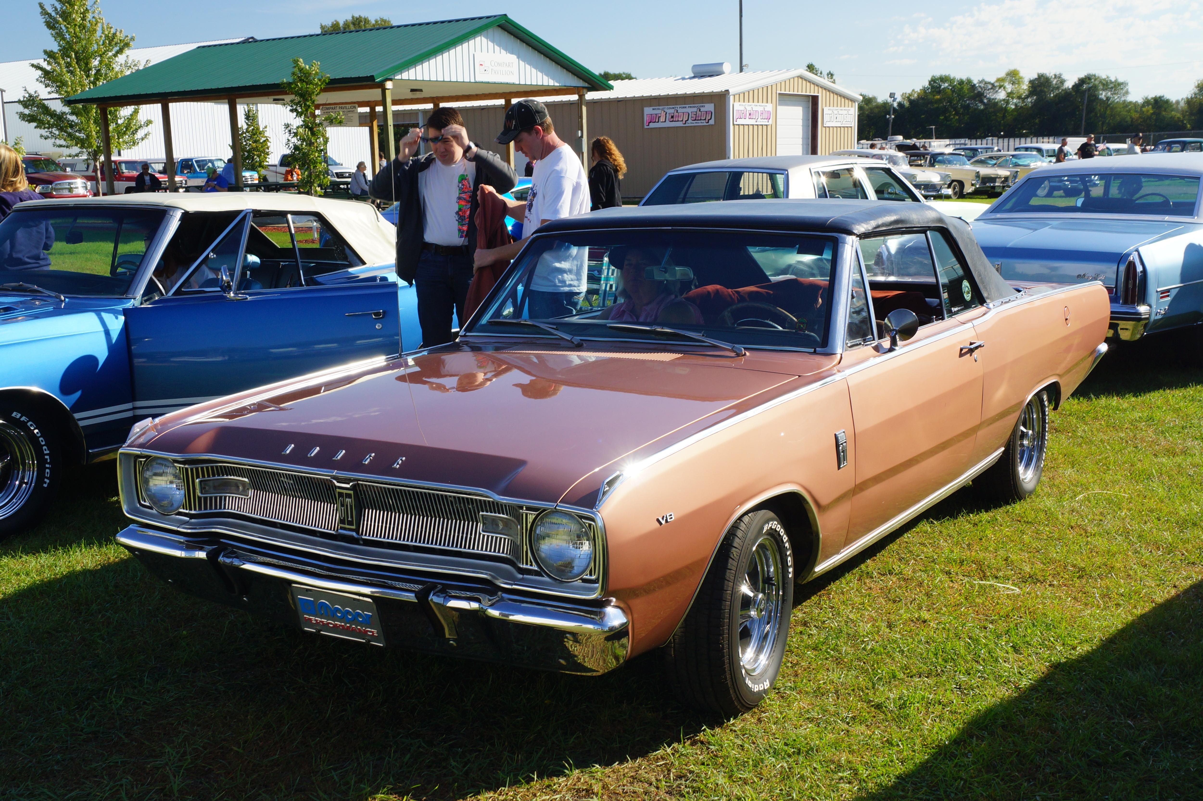 File 1967 Dodge Dart Gt Convertible 29152830723 Jpg Wikimedia Commons