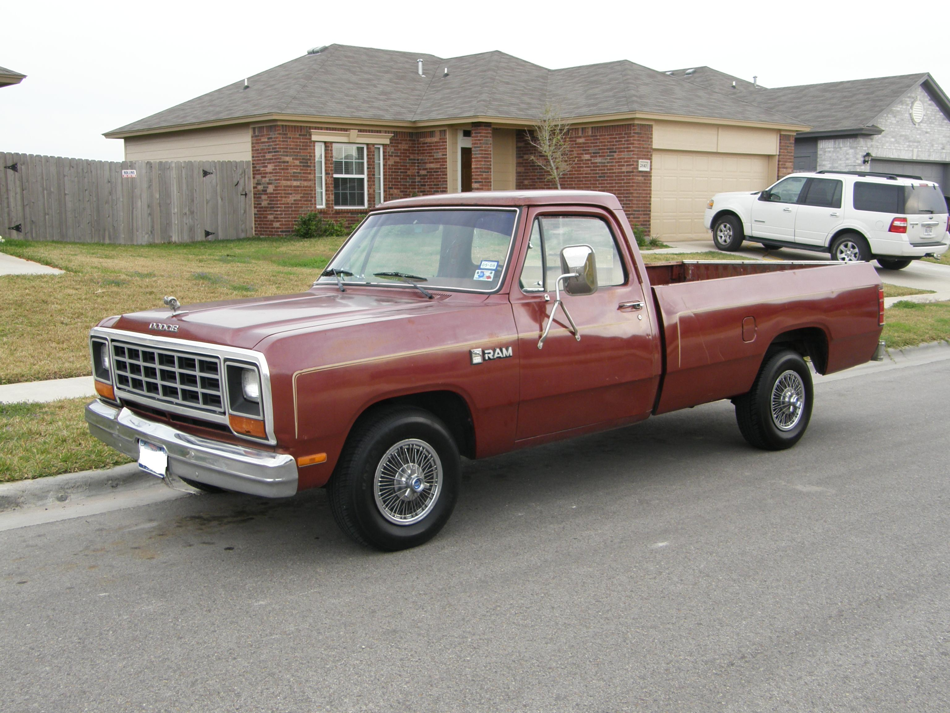 File:1985 Dodge Ram.JPG - Wikimedia Commons
