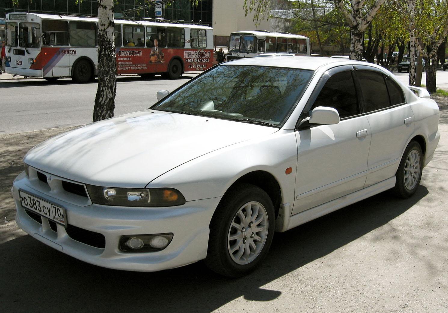 File:1998 Mitsubishi Galant 01.jpg - Wikimedia Commons