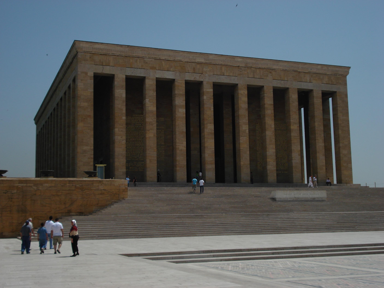 Image of Ataturk's Tomb in Ankara