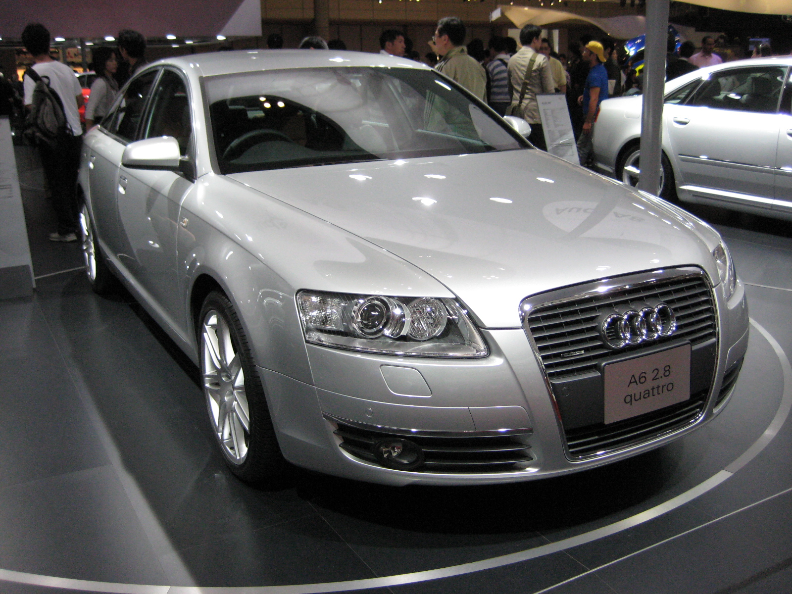 File:2007 Audi A6.JPG - Wikimedia Commons