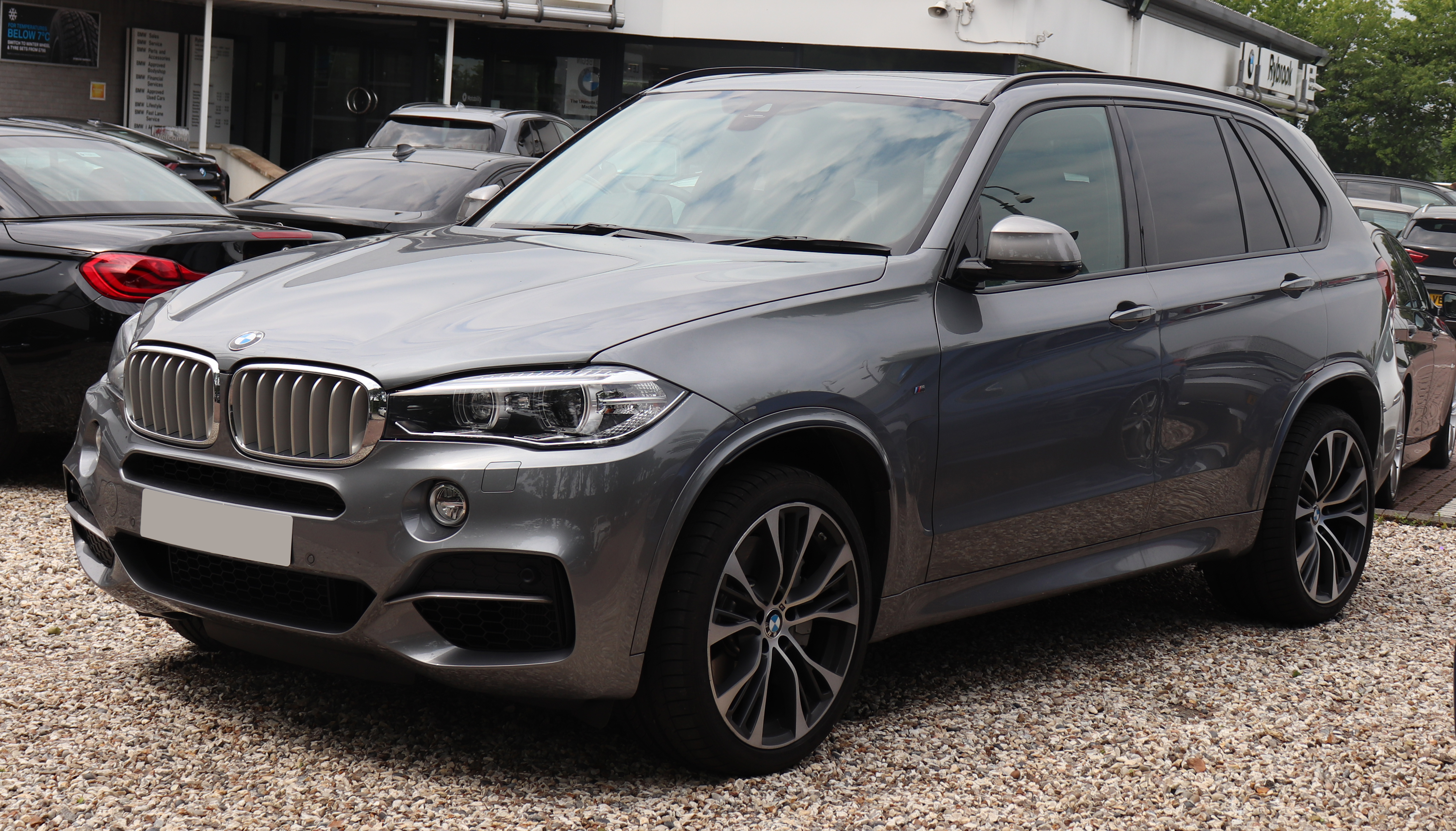 File2018 Bmw X5 M50d Automatic 30 Frontjpg Wikimedia Commons