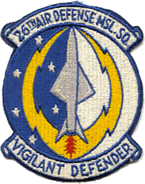 English: Emblem of the 26th Air Defense Missil...
