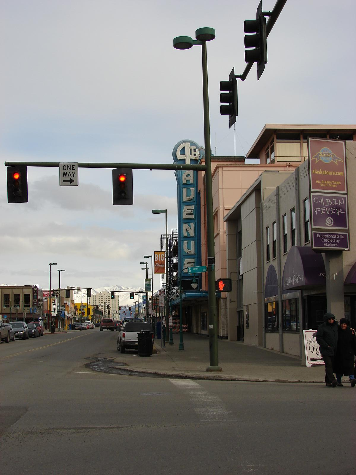 File 4th Avenue Traffic Lights Anchorage Jpg