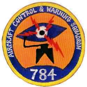 Emblem of the 784th Radar Squadron