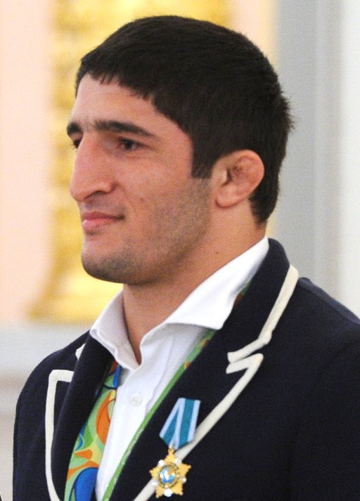 The 22-year old son of father (?) and mother(?) Abdulrashid Sadulaev in 2018 photo. Abdulrashid Sadulaev earned a  million dollar salary - leaving the net worth at  million in 2018